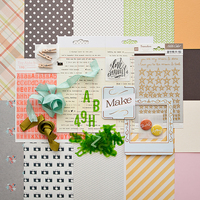 Picture of ANTIQUARY Scrapbook Kit