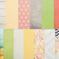 Picture of Add-on Patterned Paper - October 2013