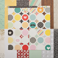 Picture of Add-on Patterned Paper - November 2013