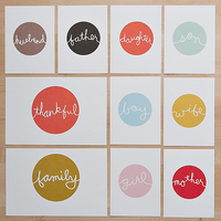 Picture of Family Cards by Paislee Press