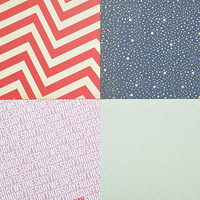 Picture of SC Patterned Paper - December 2013