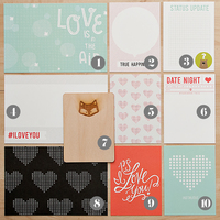 Picture of Valentine Card Set