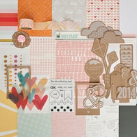 Picture of SUGAR RUSH Scrapbook Kit