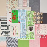 Picture of OFFICE HOURS Scrapbook Kit