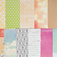 Picture of Add-on Patterned Paper - March 2014