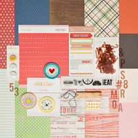 Picture of Bluegrass Farm Scrapbook Kit