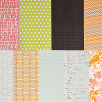 Picture of Add-on Patterned Paper - April 2014