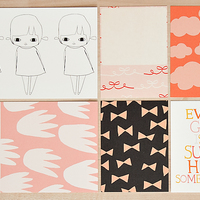 Picture of Girls Art Card Set by Ashley Goldberg