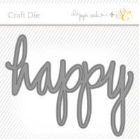 Picture of Craft Die: Happy by Paper Sushi