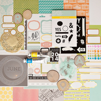 Picture of HELLO, HELLO Scrapbook Kit