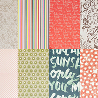 Picture of Add-on Patterned Paper - June 2014