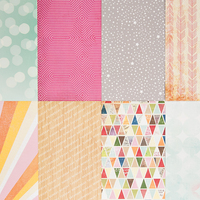 Picture of Add-on Patterned Paper - July 2014