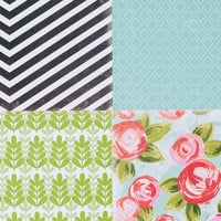 Picture of Add-on Patterned Paper - August 2014