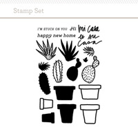 Picture of Cactus Stamp Set