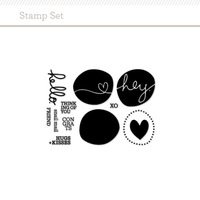 "Picture of 4x3"" Circles Stamp Set by Splendid Fiins"