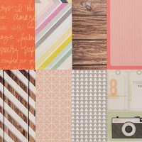 Picture of Add-on Patterned Paper - October 2014
