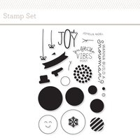 Picture of Snowman Stamp Set
