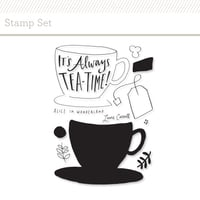 Picture of Tea Time Stamp Set