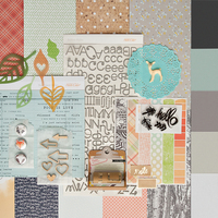 Picture of WALDEN Scrapbook Kit