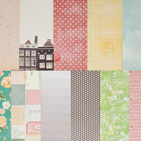 Picture of Add-on Patterned Paper - November 2014
