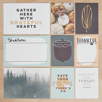 Picture of Thanksgiving Card Set