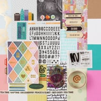 Picture of PARK AVE. Scrapbook Kit