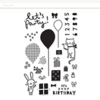 Picture of Birthday Stamp Set