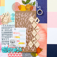 Picture of FAR FAR AWAY Scrapbook Kit