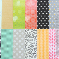Picture of Add-on Patterned Paper - January 2015