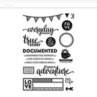 Picture of Everyday Moments Stamp Set by In A Creative Bubble