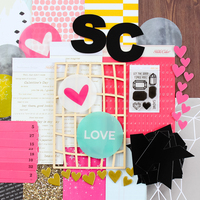 Picture of Cirque Scrapbook Kit