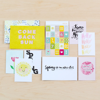 Picture of Spring Card + Sticker Set by Life.Love.Paper