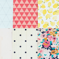 Picture of Add-on Patterned Paper - March 2015