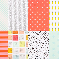 Picture of Add-on Patterned Paper - April 2015