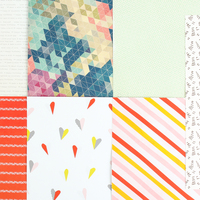 Picture of Add-on Patterned Paper - May 2015