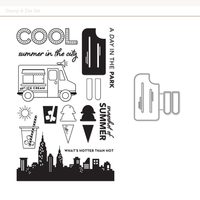 Picture of Stamp + Craft Die: Cool Popsicle by Kelly Purkey