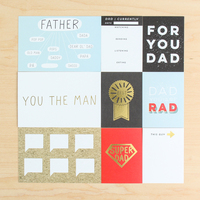 Picture of Father's Day Card Set by Life.Love.Paper