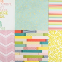 Picture of Add-on Patterned Paper - June 2015
