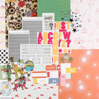 Picture of FAIRGROUND Scrapbook Kit
