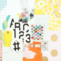 Picture of POP ART Scrapbook Kit