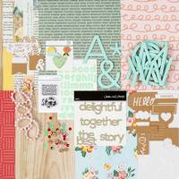 Picture of Bookmarked Scrapbook Kit