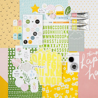 Picture of Be Happy Scrapbook Kit