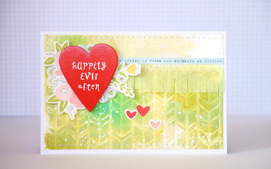 Happily ever after card original