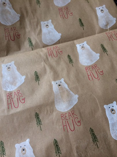 Wrapping paper original