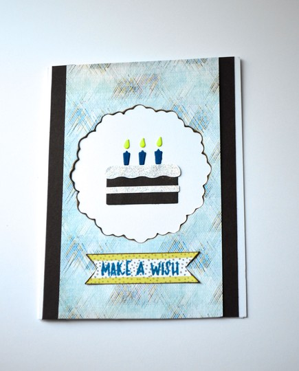 Make a wish birthday card original