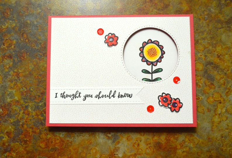 Youre really great floral card original