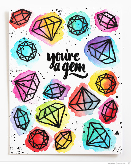 Youre a gem full wm original