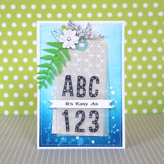 Abc card by natalie elphinstone original