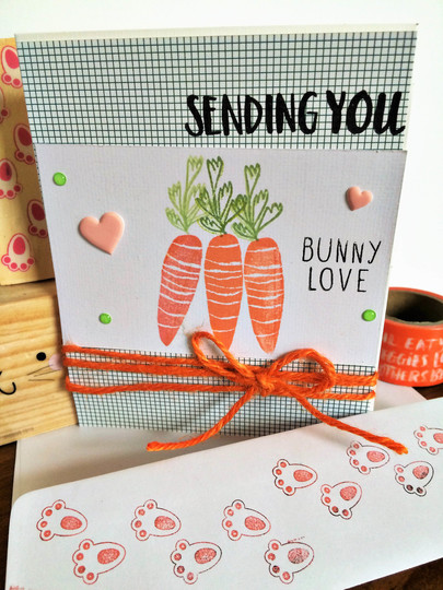 Sending you bunny love uploadable original