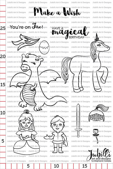 Jubilli stamps magicalwishes original